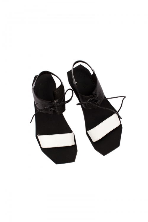 Perfect Geometry Sandals