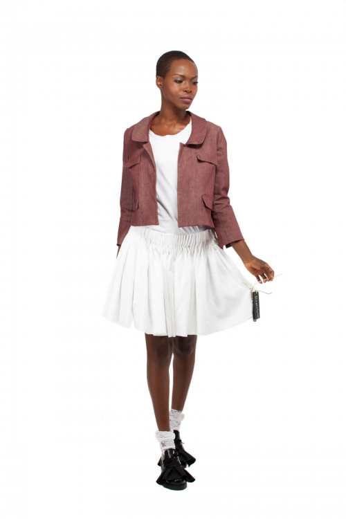 Piece Of Cloud Minimal Cool Skirt