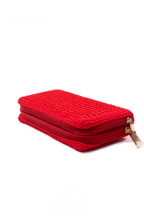 Wallet in crochet