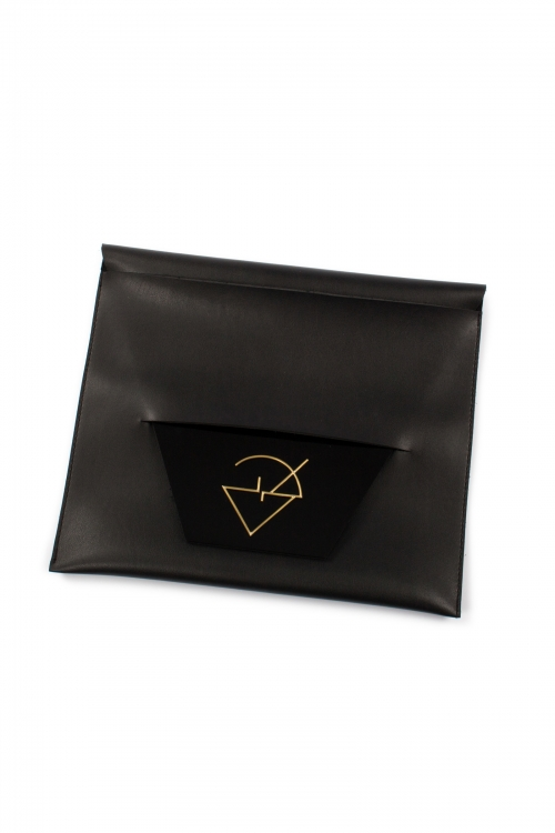 Geometric Confetti Clutch