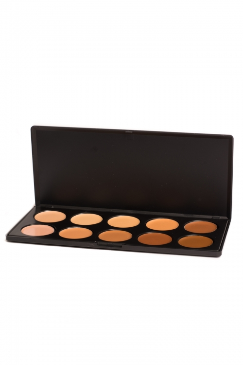 Professional 10 Colours Cream Concealer