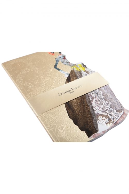 Christian Lacroix A5 Madone Nubienne Softcover Notebook