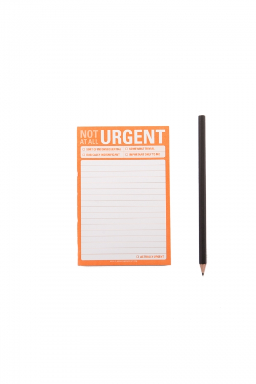 Not At All Urgent Great Big Sticky Notes