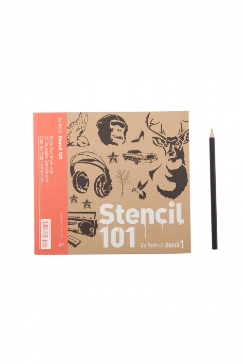 Stencil 101 - Make Your Mark With 25 Reusable Stencils And Step-By-Step Instructions