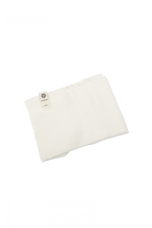 Knitted White Soft Towel