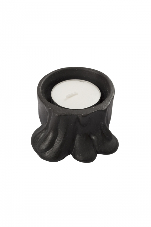Black Candle Holder