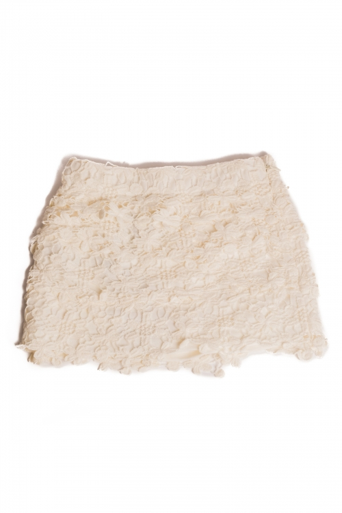 Lace Skirt Made from Piece of Cloud