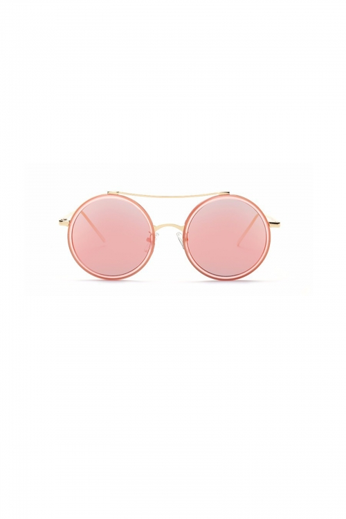Coolish Round Frame Design Sunglasses