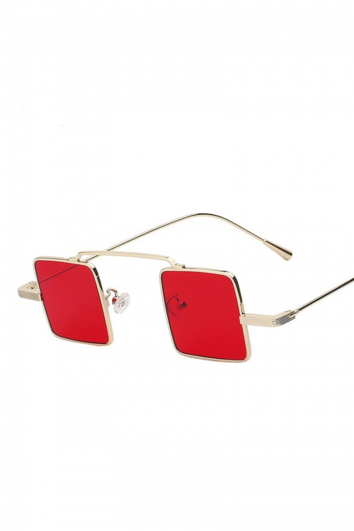Cool And Red Sunglasses