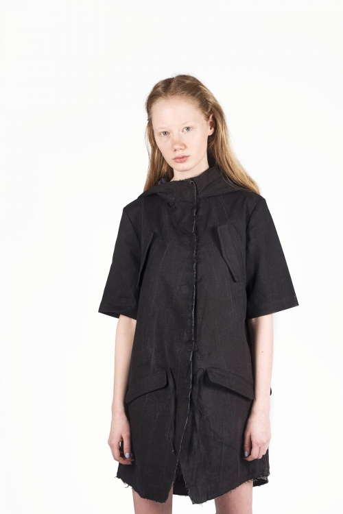 Commen s'appelle Black Denim Jacket