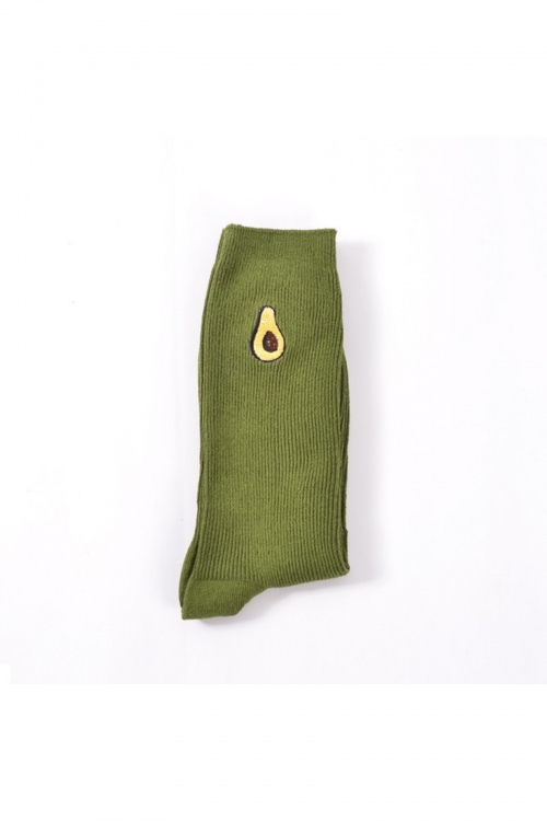 Avocado Is Passion Socks