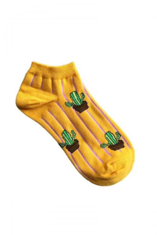 Cactus Touch Socks