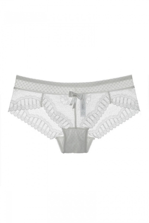 White Buffy Panties