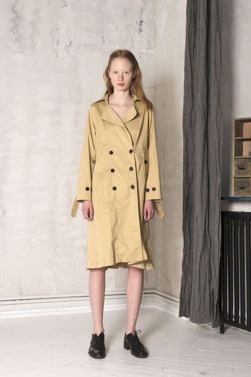 London Trench Dress