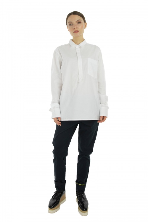 White Something Shirt